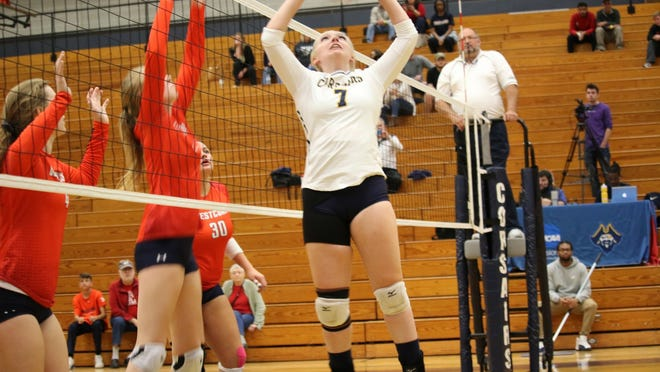 Riley Thomas had 803 assists through her first three years at UMass Dartmouth.