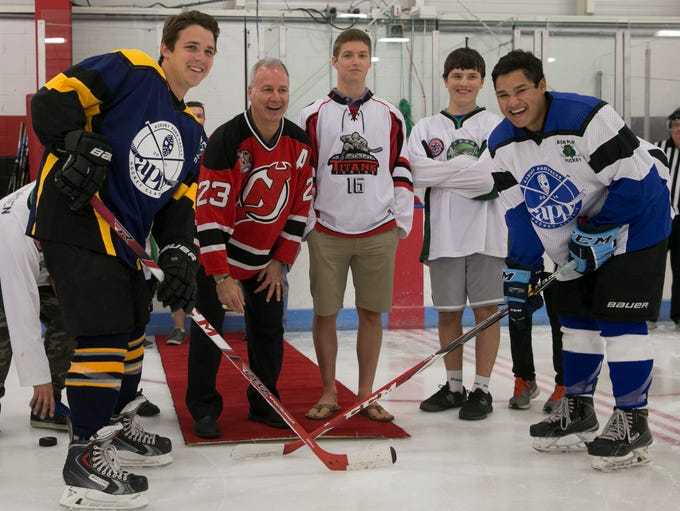 Asbury Park Press All Star hockey classic. Bruce Driver