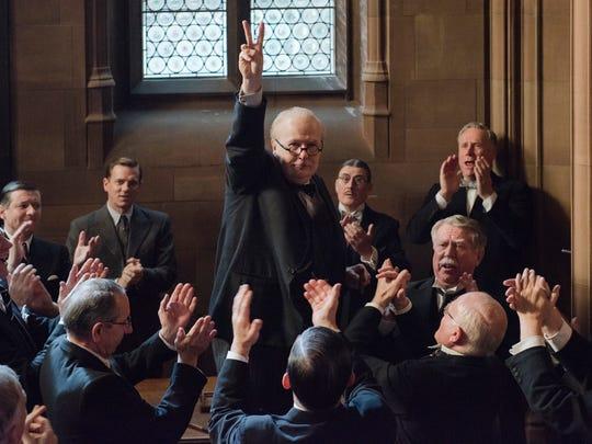 Gary Oldman stars as Winston Churchill in 'Darkest
