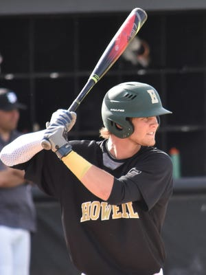 Howell's Caleb Balgaard was an All-State diver, state-qualifying swimmer and All-State baseball player in his senior season.