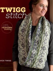 """""""Twigg Stitch"""" is a new book about two-color ribbing techniques that may surprise  you."""