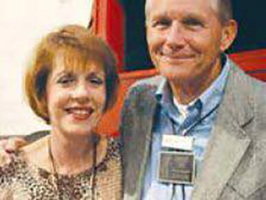 Dr. Charles Torti and his wife, Carrie Torti