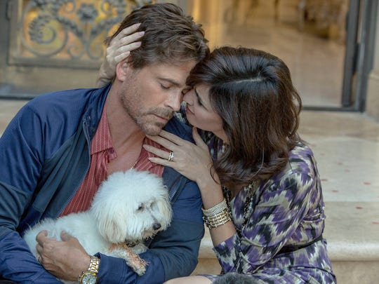 "Rob Lowe (""Ben Novack Jr."") and Paz Vega (""Narcy Novack"")"