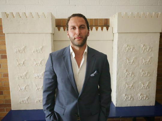 Nathan Kalasho, the school founder, is photographed during the grand opening of Keys Grace Academy Charter School on Thursday, August 6, 2015, in Madison Heights, MI. The school will be opening for the 2015-2016 school year and it will be focused on preserving Chaldean culture, history and language.