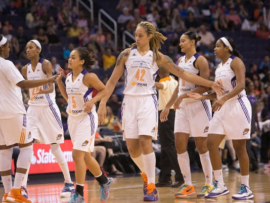 Phoenix Mercury vs Los Angeles Sparks