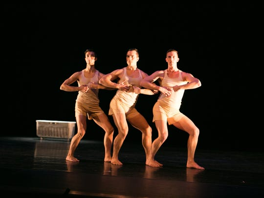Randy James' 10 Hairy Legs all-male dance company will