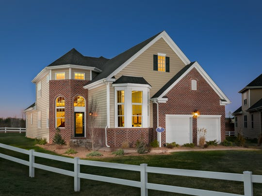 This Churchill model is one of four floor plans available at Gateway at Royce Brook, a new active-adult community in Hillsborough.