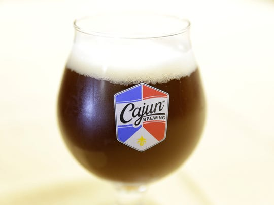 Cajun Brewing's new brew Bayou Brunette Sept. 26, 2016 in Lafayette. The brewery's taproom opens Thursday.