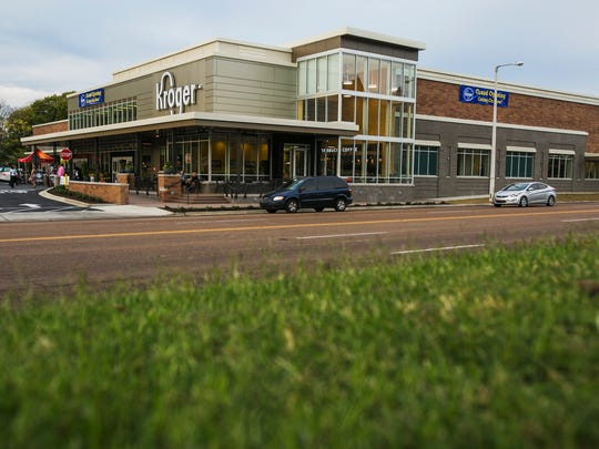 "The Union Avenue Kroger, pictured in 2016, is now offering the company's ""Pickup"" service."