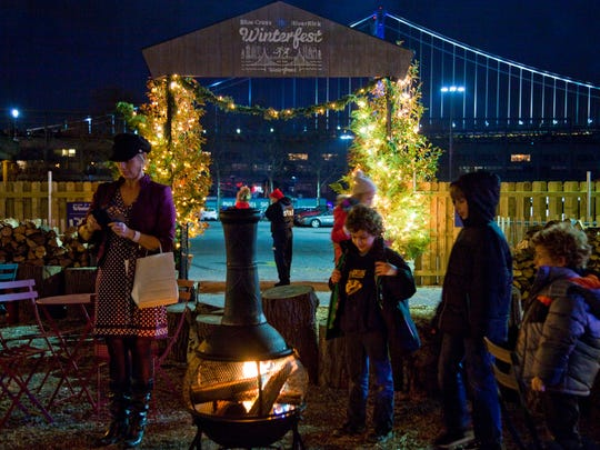 Philly's waterfront wecomes the holidays with a regulation-size ice rink, game room, fire pits and more during the Blue Cross RiverRink Winterfest.