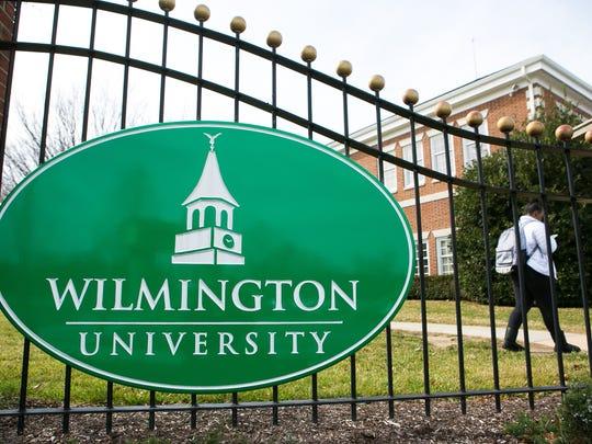 Wilmington University in New Castle.
