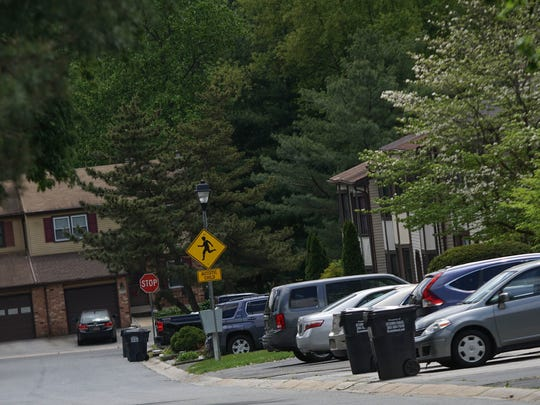 The Village of Plum Run on May 8, where a 4-year-old girl was abducted April 6. She was sexually assaulted and then thrown in a large pond at Banning Park.