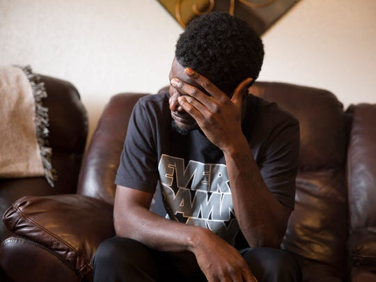The former boyfriend of. Ashley Nicole Metz, in Lafayette Tuesday, July 11, 2017. Metz was killed in June 2016, in a car fire, without a clear motive.