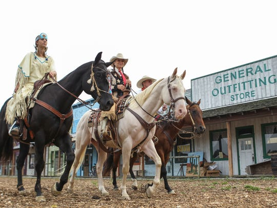 Old West Festival in Williamsburg prepares for its