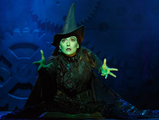 Jessica Vosk stars as Elphaba in the National Tour