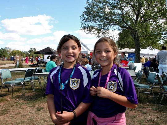 Youngsters enjoy Franklin Day last year. More than
