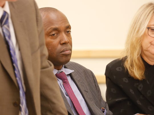Opening statements have begun in the corruption trial of Spring Valley Trustee Vilair Fonvil at the Rockland County Courthouse on Oct. 30, 2017.