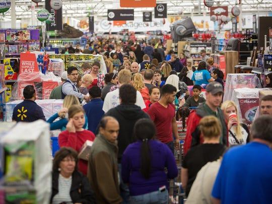 IMAGE DISTRIBUTED FOR WALMART -Customers save big at