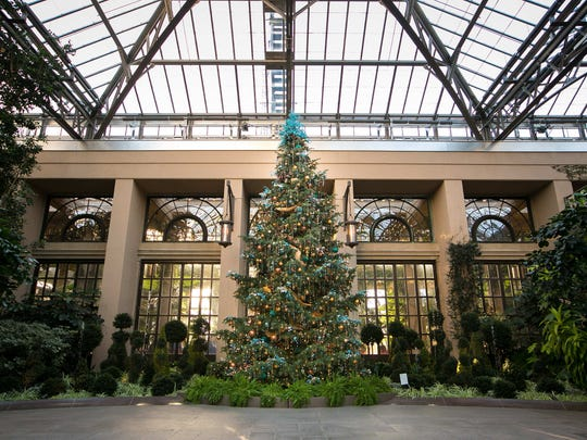 Christmas season at Longwood Gardens begins with 'A Longwood Christmas' which can be seen through January 7th.