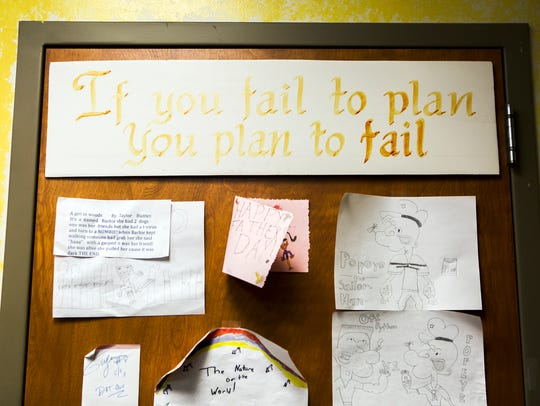 May 13, 2016 - A message stating, 'If you fail to plan,