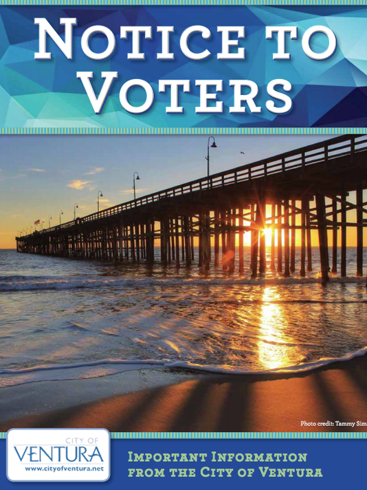 City of Ventura voter mailing