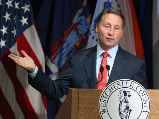 Westchester County Executive Rob Astorino presents