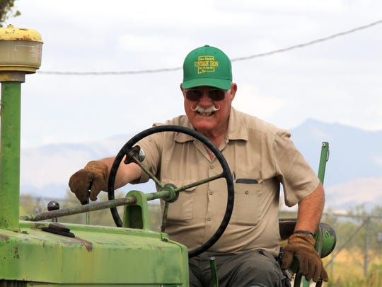 Tractors are a vital piece of equipment when organizing the Southwestern New Mexico State Fair in Deming, NM.