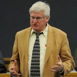 U.S. Glenn Grothman, R-Campbellsport, introduces himself to constituents Feb. 20 during his first Oshkosh listening session at City Hall.