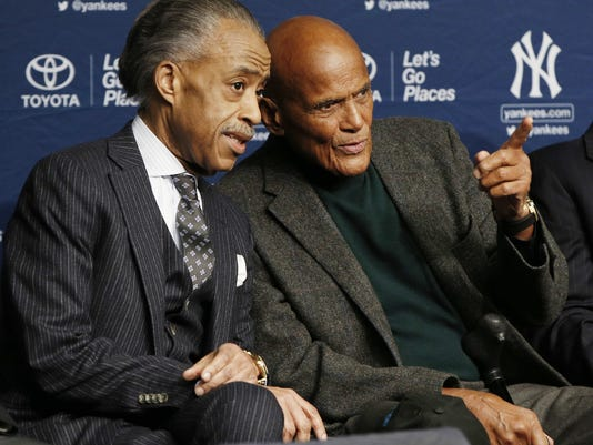 Rev. Al Sharpton, Harry Belafonte