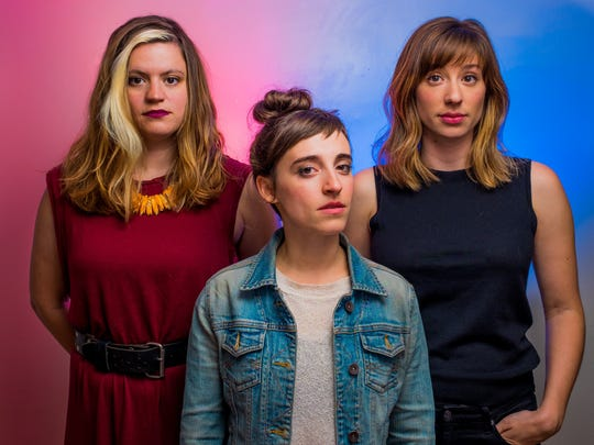 """From left, Molly Beach Murphy, Jeanna Phillips and Annie Tippe, the creative forces behind """"Cowboy Bob,"""" which will be presented at Powerhouse Theater."""
