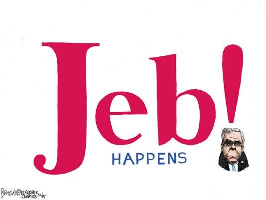 NO. 9: Jeb (!) Bush's medicore campaign