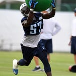 Titans' Justin Staples: 5 questions in 50 seconds