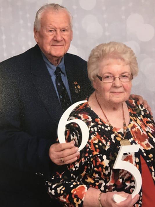 Anniversaries: Joyce Gross & Charles Gross