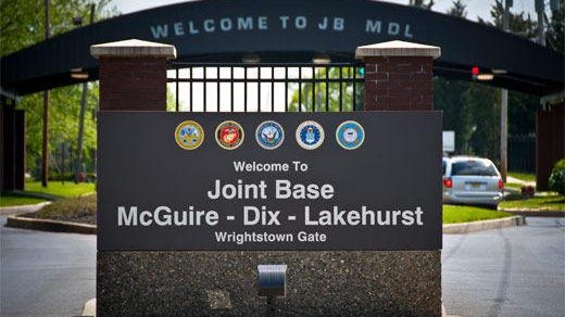 Joint Base McGuire-Dix-Lakehurst, New Jersey's largest military base, and Naval Weapons Station Earle in Colts Neck, Monmouth County, are among some 100-plus military bases across the nation where PFAS contamination has occurred.