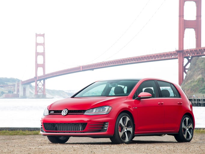 The GTI is a high-performance version of the subcompact two- or four-door, front-drive hatchback that is VW's best-selling car worldwide. In the U.S., though, it's only mid-pack among VW models.