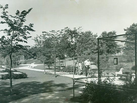 The Vollrath Zoo ran near the lake in Sheboygan's Vollrath