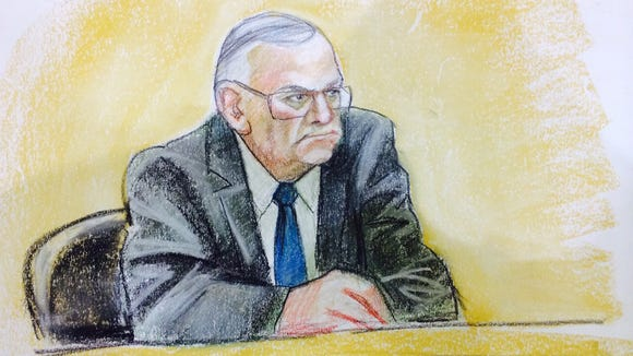 Sheriff Joe Arpaio at his civil contempt hearing.