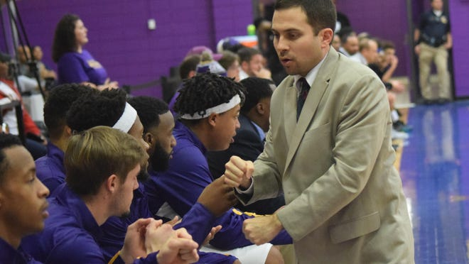 Larry Cordaro, the head coach at LSUA, is a finalist for Grambling's men's basketball job.