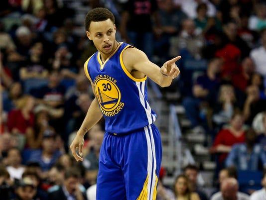 USP NBA: GOLDEN STATE WARRIORS AT NEW ORLEANS PELI S BKN USA LA