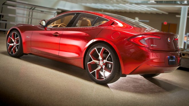 The Fisker Atlantic was going to be the plug-in maker's next model