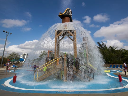 Pirate's Cove is the latest attraction at Sun Splash