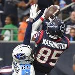 Titans notebook: Washington scores on his former team