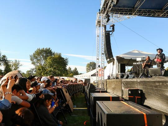 Voz de Mando performs at Reventon de Verano, or Summer Blowout, in 2016, at Riverfront Park. The all-day concert that features regional Mexican music returns Aug. 20.