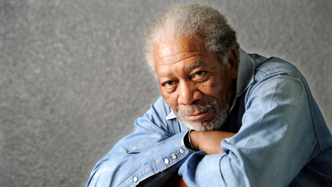 In this April 25, 2011, file photo, actor Morgan Freeman poses for a portrait in Los Angeles.