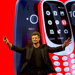 Nokia 3310 relaunched with classic game Snake
