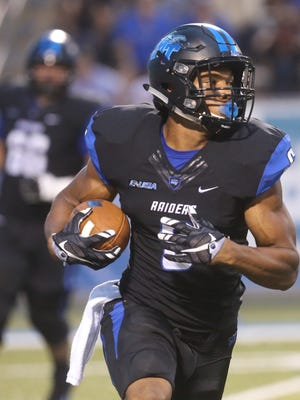 MTSU's Jordan Parker is looking to have another explosive game against Illinois on Saturday.