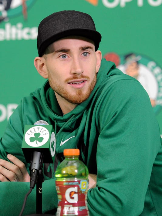 NBA: Boston Celtics-Press Conference