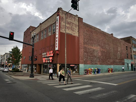 The Trail West store closed its doors at Third and