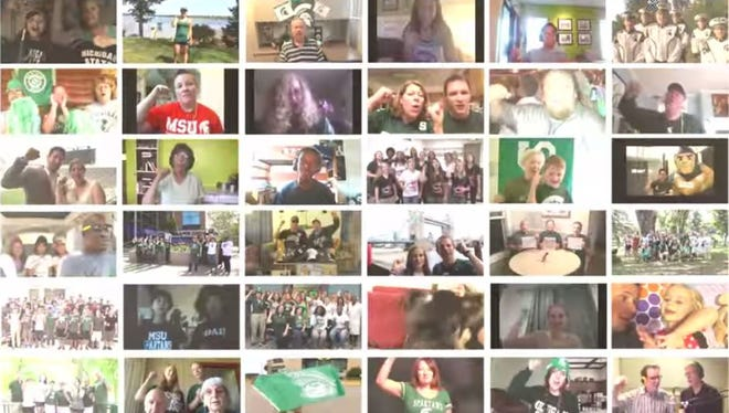 Virtual Choir for the MSU Fight Song