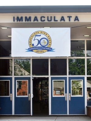 Immaculata High School in Somerville, N.J., celebrated its 50th anniversary in 2012. A religion teacher's anti-gay Facebook rant is drawing ire from the school's alumni.